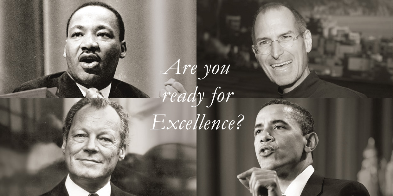 Martin Luther King, Steve Jobs & Co. machen es vor - Ausstrahlung und Überzeugungskraft sind entscheidend, um Menschen zu bewegen und Großes zu erreichen.
